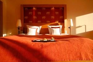 Og apropos hvile - her er sengen der skal hviles i inden morgendagens Porschestrabadser...