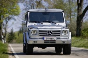 Den klassiske Mercedes G-klasse firehjulstrækker har været samlet hos Mangasteyr i Østrig siden 1979. (foto - www.magnasteyr.com)