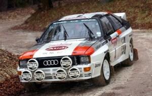 Rallyracerne der i 80'erne slog Audi's navn fast som andet end konservative tyske familiebiler