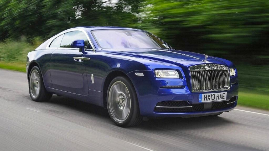 Min onsdagsdate - fyrtånrsmodellen hos bilindustriens fyrtårnsmærke - Rolls Royce Wraith