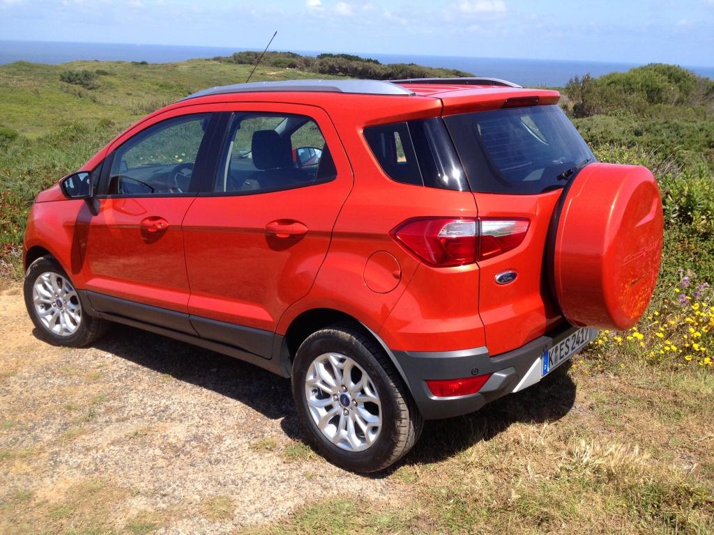 Små hjul og store fastmonterede reservehjul er fejlcastet til Europa