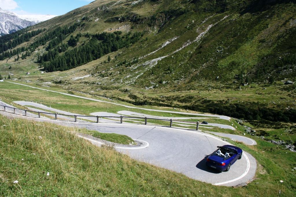 Spügenpasset i en BMW M6 FOTO: Henrik Dreboldt