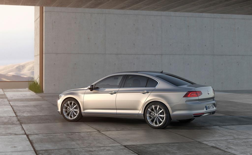 Sedanudgaven er lige så stor som en Audi A6, men priserne skulle forblive på nuværende Passatniveau.