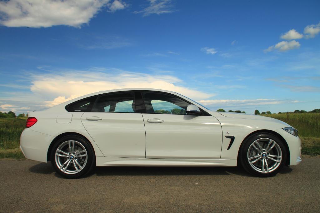 Bilen ingen umiddelbart har brug for, men som i min optik er den smukkeste af de mellemstore BMWer - BMW 435i Gran Coupe