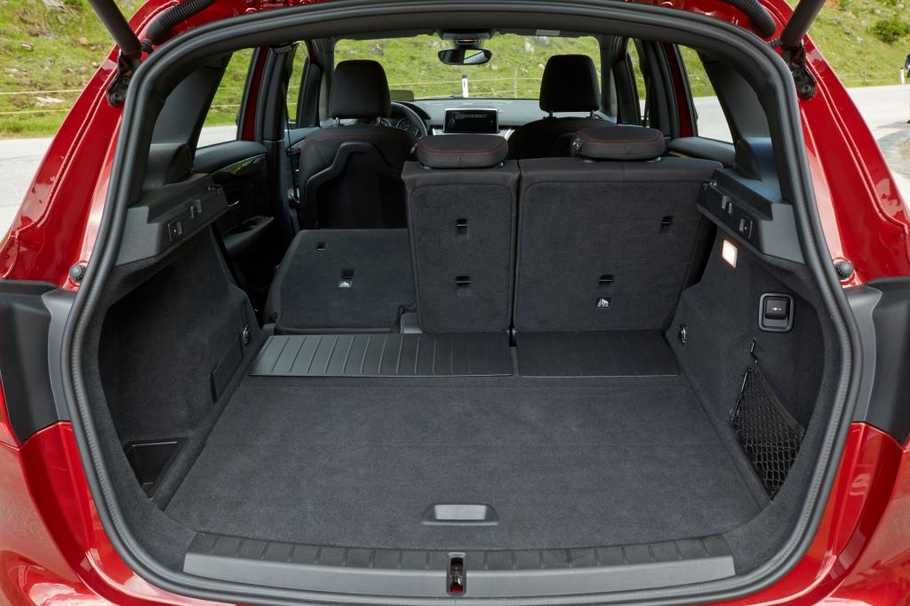 Bagagerummet er på 468 liter, og kan udvides til 1.510 liter, hvis sæderne foldes ned. Altså klassiske MPV-mål. Foto - PR