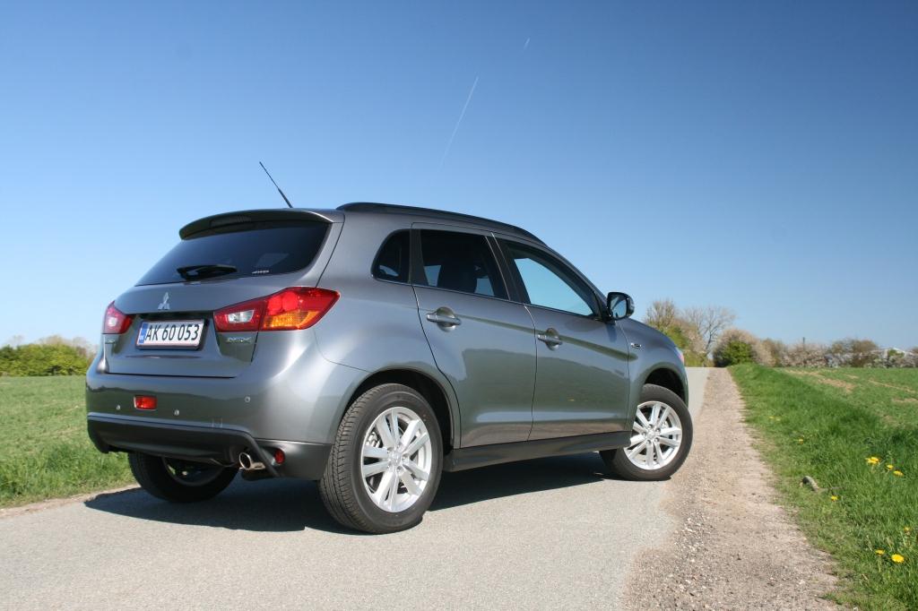 Den faceliftede ASX er fin, men den kan ikke løfte Mitsubishi ud af suppedasen alene.