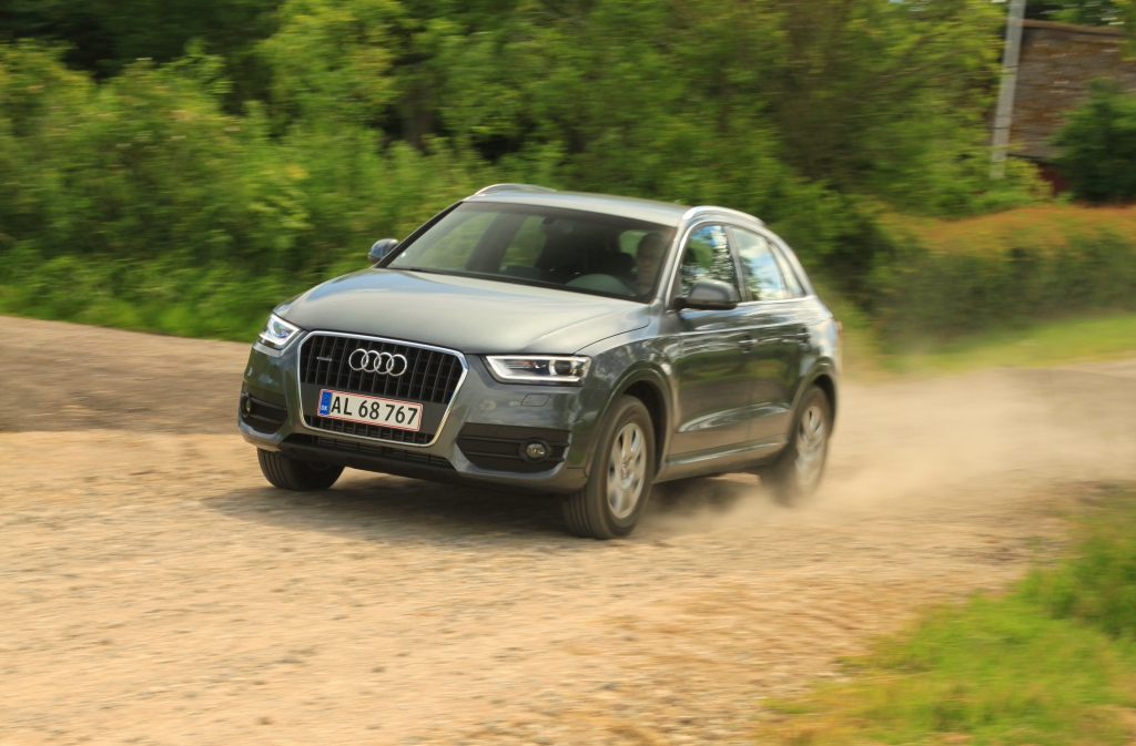 Audi Q3 er den mest regulære mini SUV i testen, og selvom den er en smule steril, så er den bedst allround - hvis det altså er en tysk mini SUV, man er i markedet for.