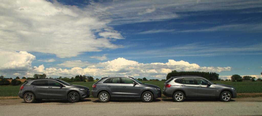 Et billede der siger mere en tusind ord. Det er dybest set en hatchback vs. en crossover vs. en hævet stationcar...