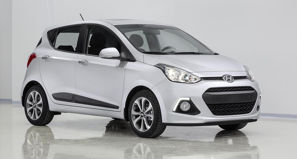 """Berlingske Medias """"Årets Bedste Mikrobil 2014"""" blev Hyundai i10."""