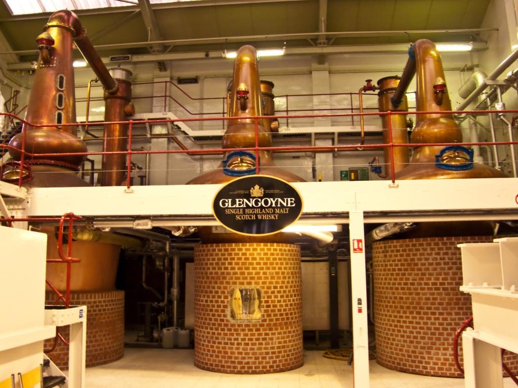 Glengoyne er et af mange skotske distillerier, der er et besøg værd. Men vent med at tage på den store rundtur, til du har lært at sætte pris på dråberne.