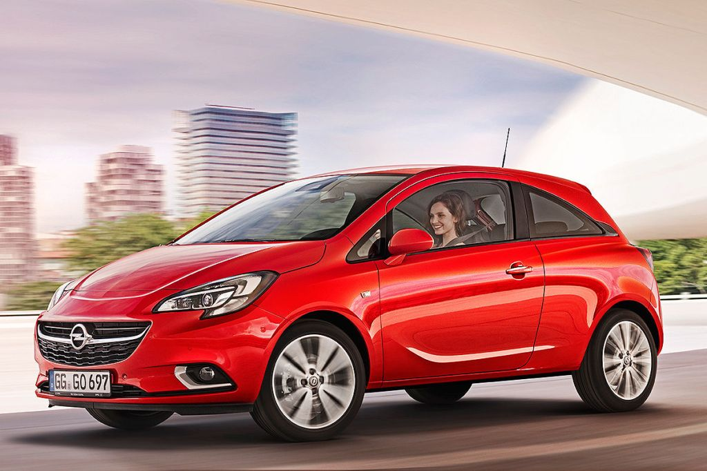 Den ser umiddelbart besnærende ud den nye Opel Corsa...