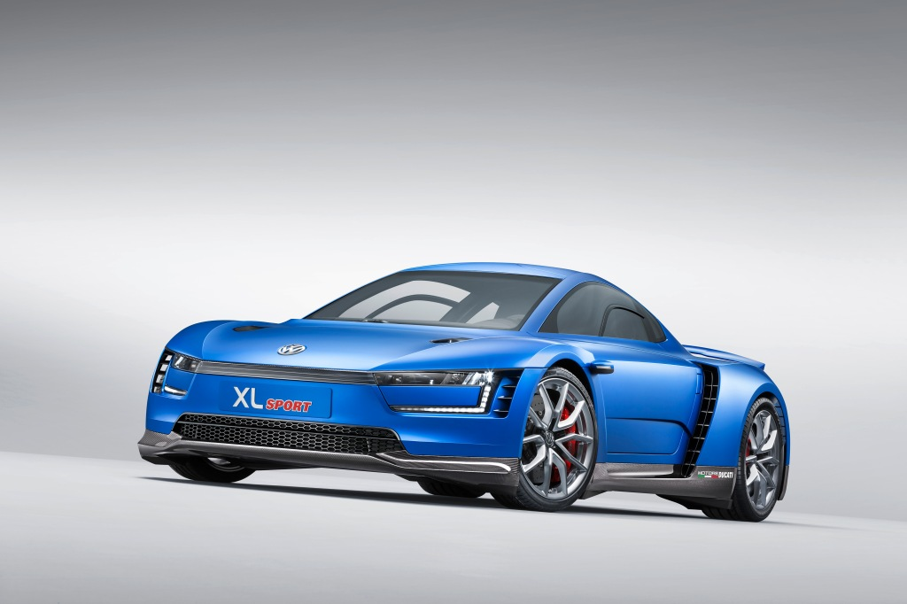 XL Sport er kun et koncept, men hvor ville Volkswagen dog sparker røv, hvis de satte den i produktion!