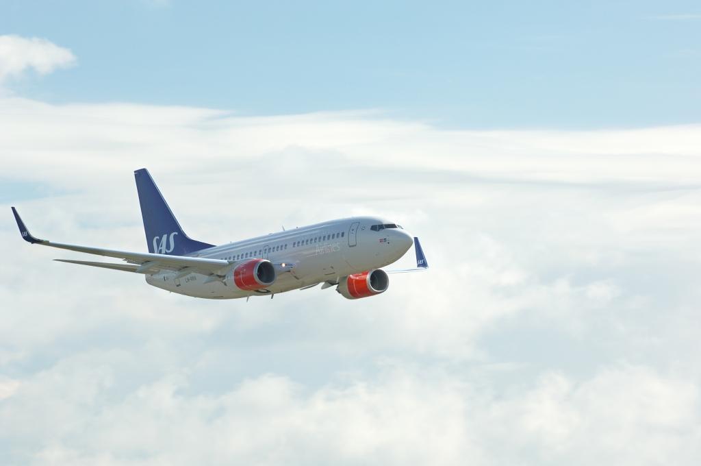 I skyerne igen - denne gang med SAS. PR-Foto