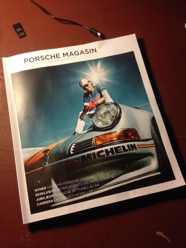 Det nye Porsche Magasin er begået af Nikolaj Karlshøj, og især hans coverhistorie om Peter Schiøtz, der kører ca. 20.000 km om året i sin 42 år gamle 911, er fantastisk læsning!