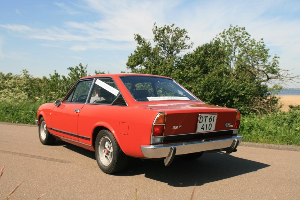 Testbilen er en af de sidste 124 Coupe - også kendt som CC udgaven, med lodrette baglygter.