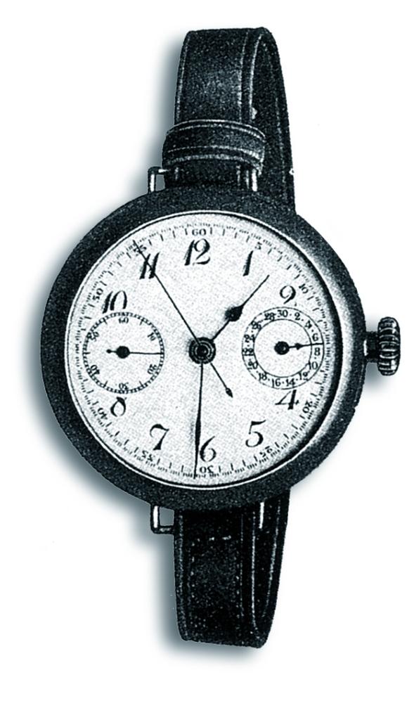 Bretilings første chronograph til håndledsbrug så sådan her ud, og det er uret, som jubilæumsmodellen er inspireret af. Smukt ikke?