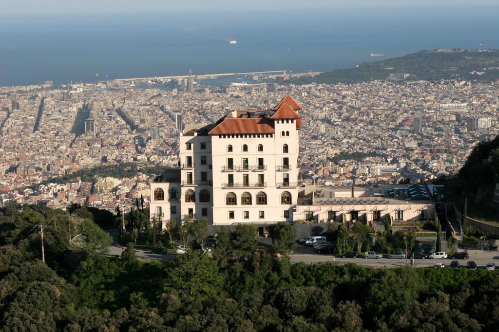 Gran Hotel La Florida Barcelona - klassisk tilbagelænet med Barcelonas bedste udsigt!