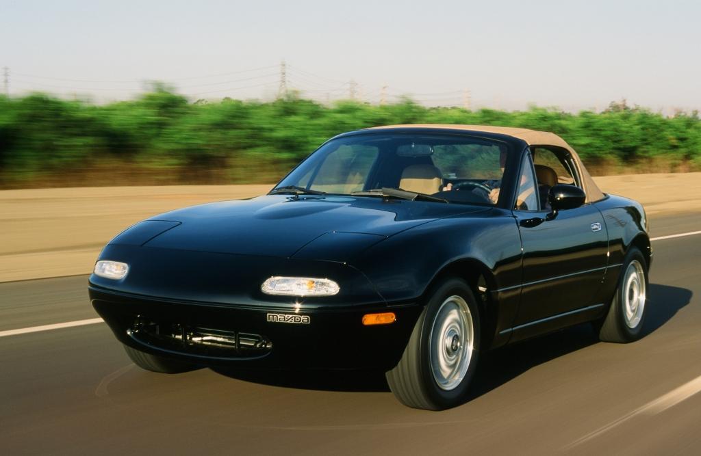 Mazda MX-5 vil ALTID være på min drømmegarage-bruttoliste. (Model-foto)