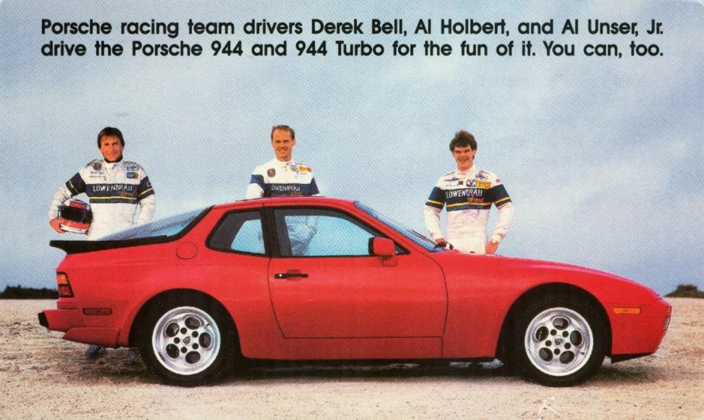 Annoncefoto af en 944 fra 1986. Selvom den ikke ligner en 911'er - og dermed en klassisk porsche, så er den snedkererede af de samme grundige tyskere, og prisen er en helt andet. Jeg er forelsket! (PR-foto)