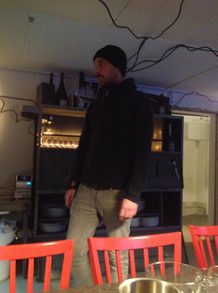 David Flink er kok, mikrobrygger og ... Flink...