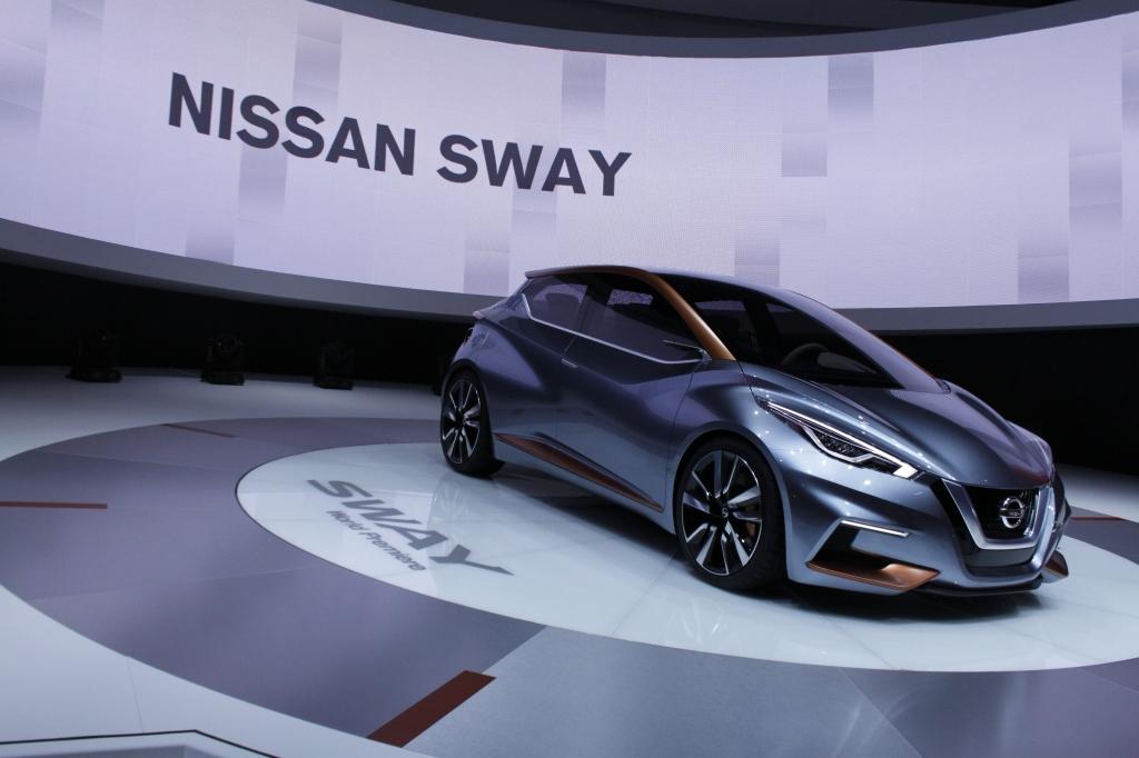 ÅRETS KONCEPT: Hvis en ny Micra kommer til at ligne konceptbilen Sway, så er jeg igen glad Nissan-fan!