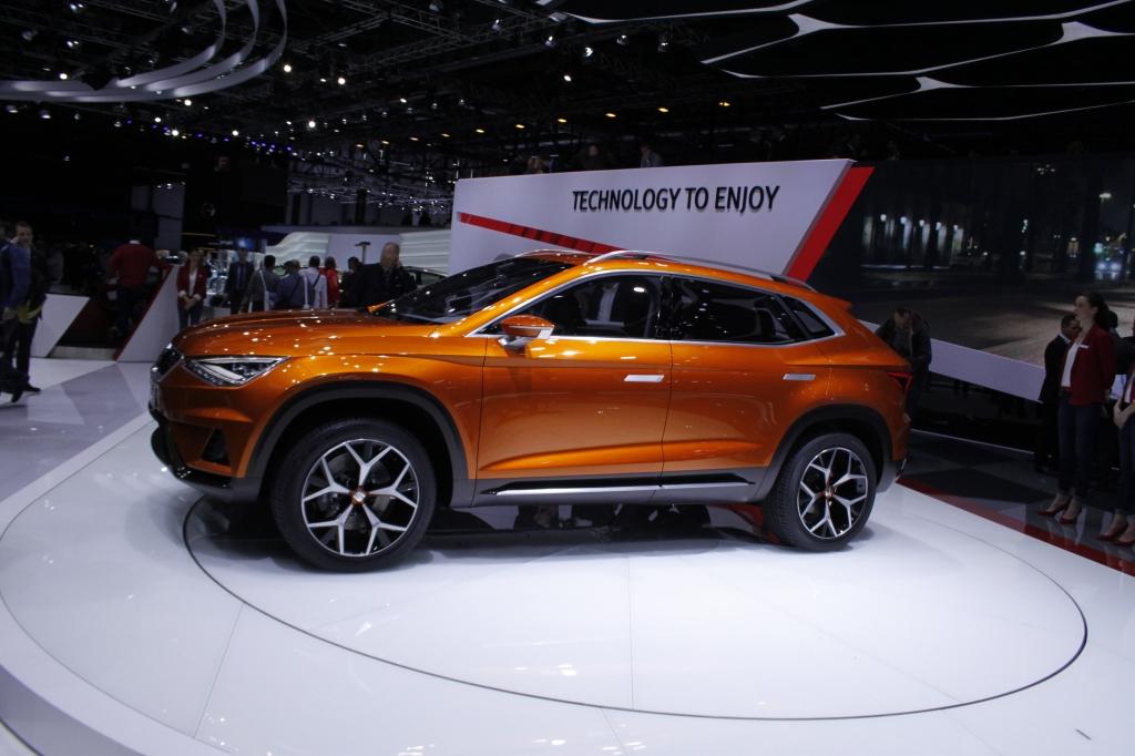 Seats SUV skal dele teknik med den nye VW Tiguan og afløseren til Skoda Yeti, og lanceres engang i 2016.