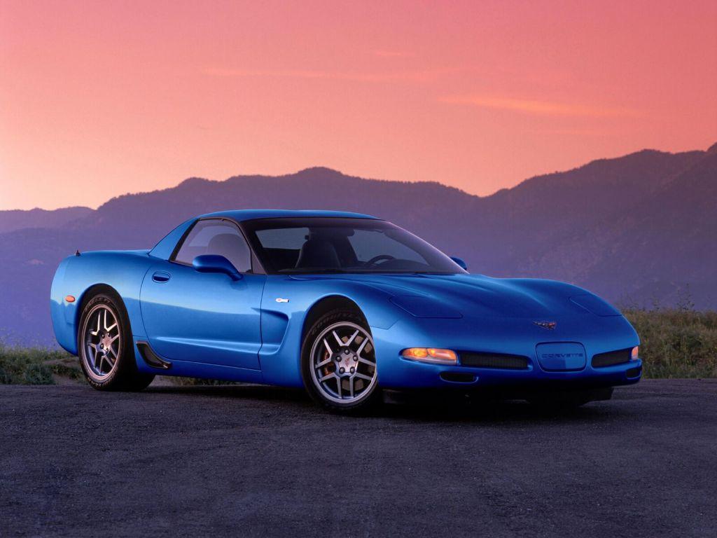 Lavere, bredere og mere muskuløs - med C5 blev Corvette rigtig moderne.