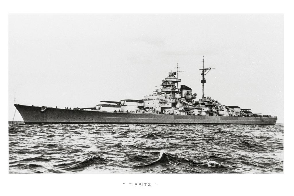 Et syn der kunne jage en skræk i enhver allieret sømand. Et enkelt pletskud fra de 380 mm kanoner, kunne sænke et fragtskib til bunden af ishavet på et øjeblik.