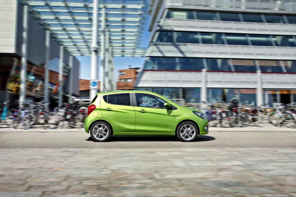 Opel Karl har plads og praktisk anvendelig kombineret med en fed motor og skarp pris.