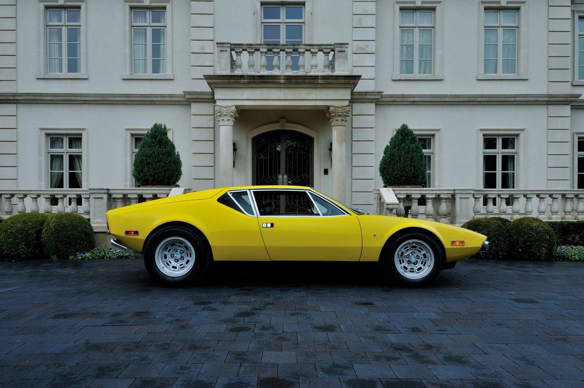 De Tamaso Pantera er den perfekte kombination mellem italiensk design og så en stor solid amerikansk V8 motor. I like...
