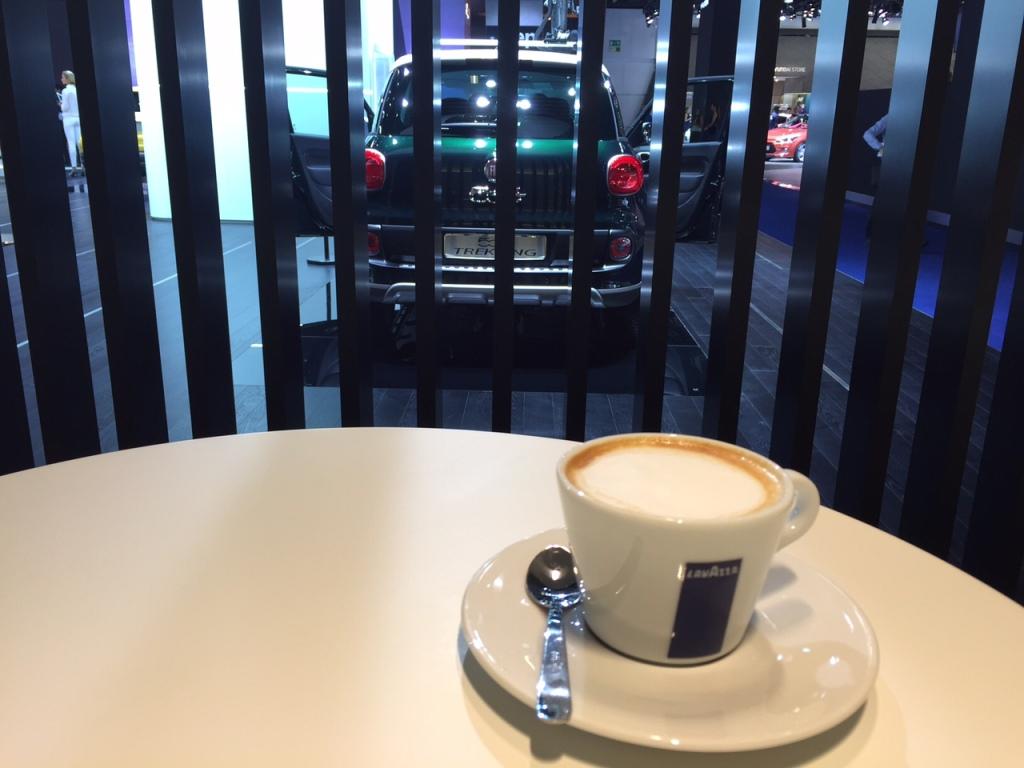 Kaffen hos italienske Fiat er bare den bedste...