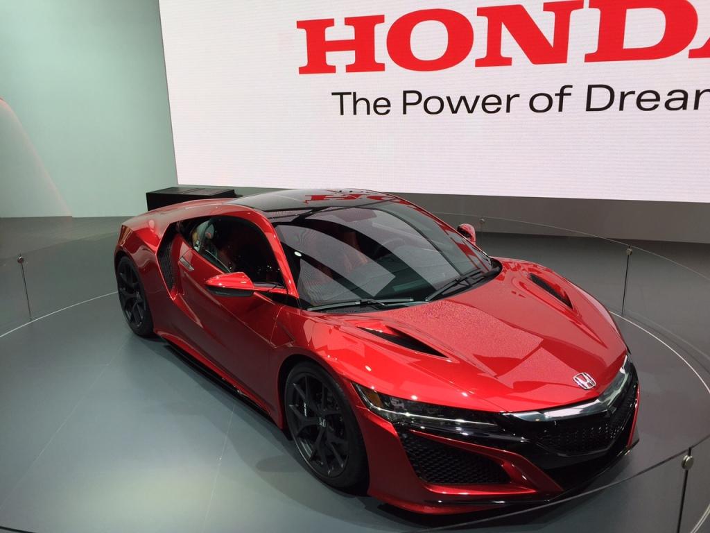 Honda NSX lover fantastisk...