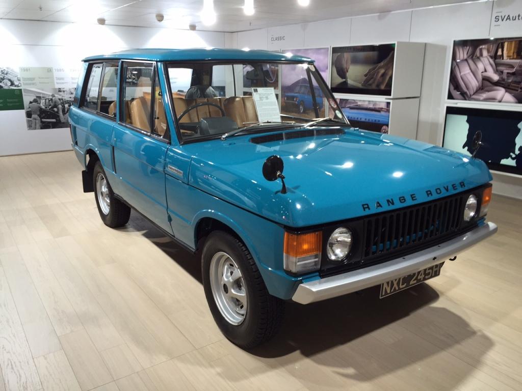 Første generation Range Rover - ja tak.