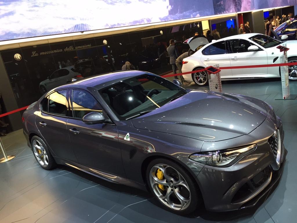 Giulia Q med 510 hk - I like
