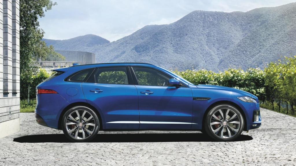 En SUV baseret på sportsvognen Jaguar F-Types designsprog. Kan man det?