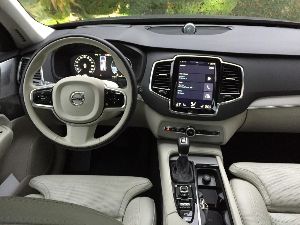 Volvo XC90 kabine
