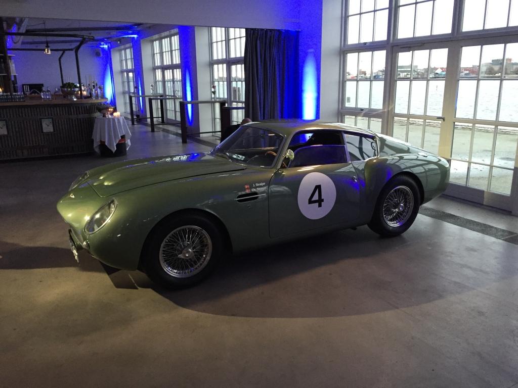 En af de smukkeste Aston Martins nogensinde. En ud af 19 DB4 i Zagato habit, og den eneste i dansk eje.