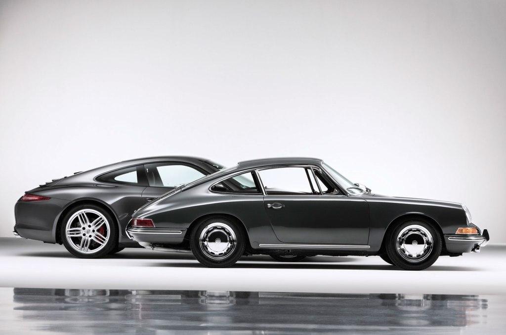 Der er sket meget på 50 år – og så alligevel ikke. Porsche 911 er umiskendeligt en Porsche 911.