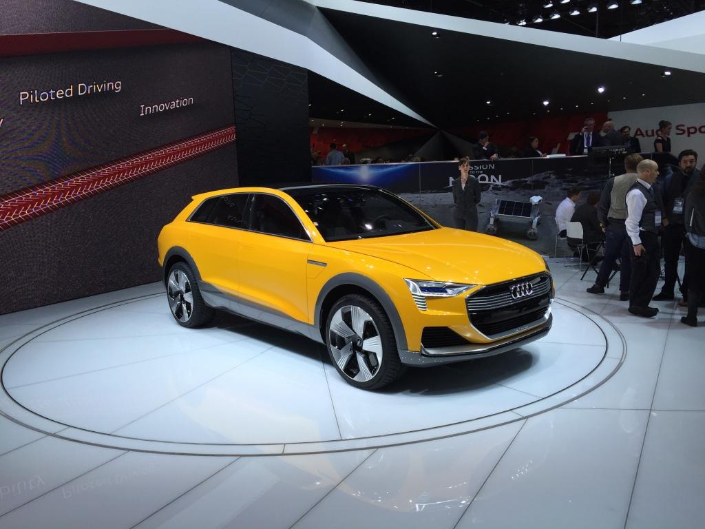 Audis nye brintbil viser, at Audi er til steder på alle teknologifronter.