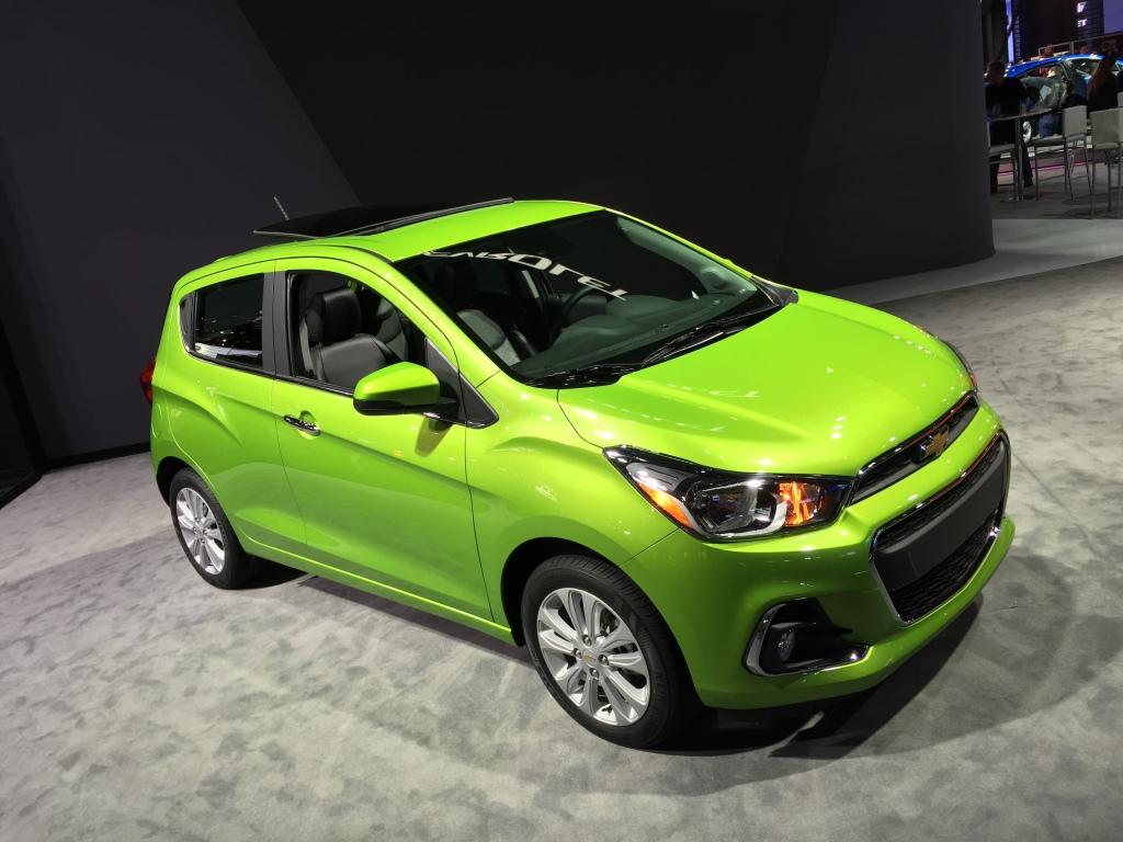 Den lille Chevrolet er væk i Danmark, men i USA sælges den som økoalternativ.