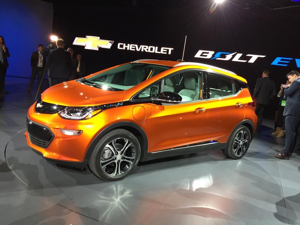 Chevrolets Bolt el-bil får en +300 km rækkevidde.
