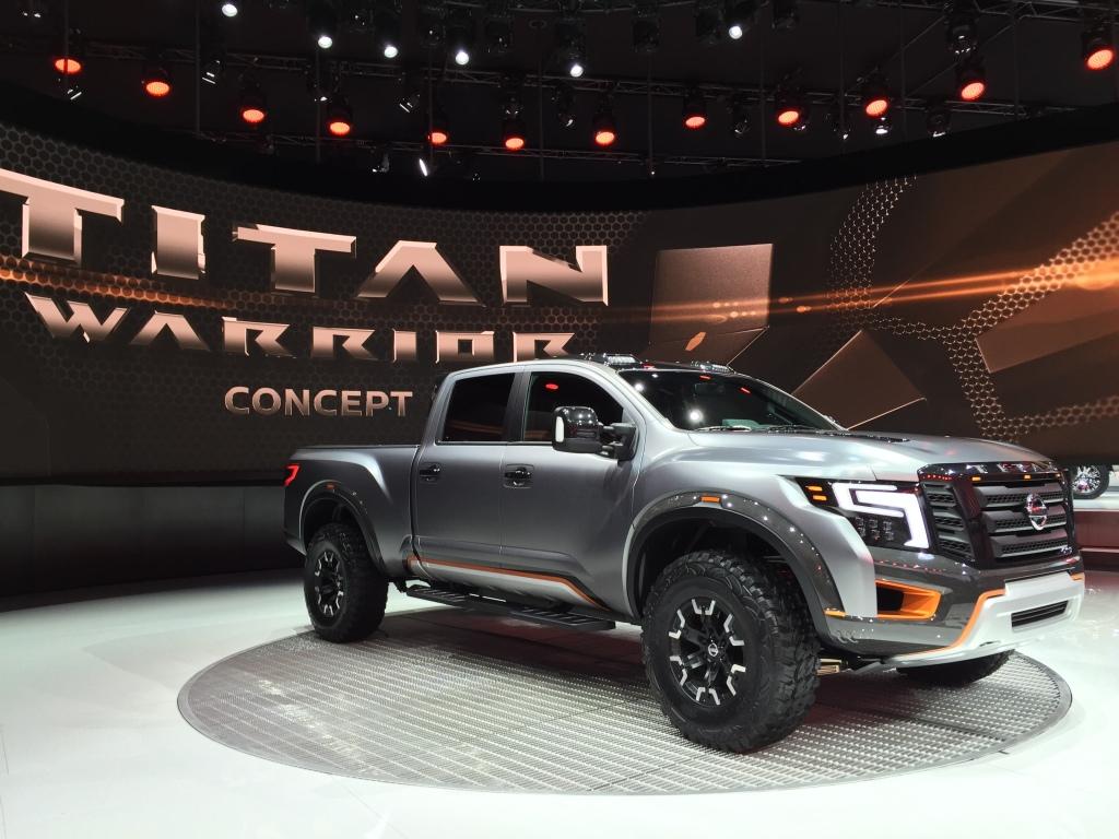 Nissans monstertruck ramte amerikaners smag spot-on