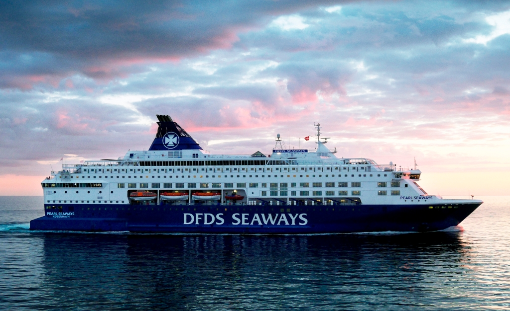 DFDS besejler Norden tæt, og det betyder, at de fleste Volvoer har været ombord på et af deres skibe...