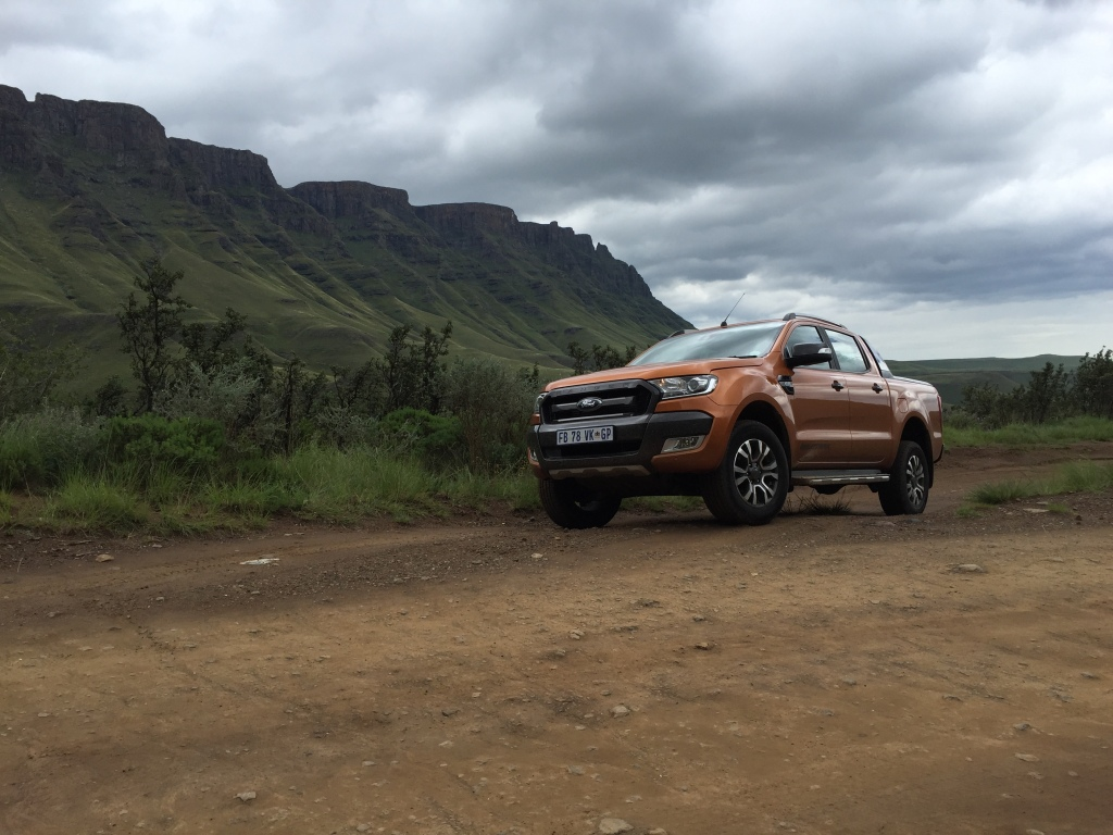Den 3,2 liters fem-cylindrede dieselmaskine i Ford Ranger er perfekt afstemt til opgaven som bjergbestiger...