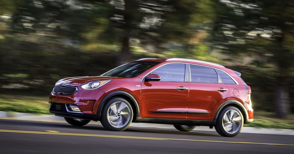 Ny Kia Niro hybrid ligner ikke en hybrid men får en 105 hk benzinmotor og en 45 hk el-motor.