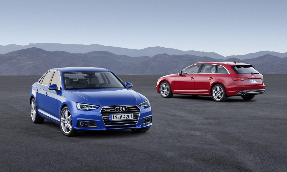 Audi A4 fås både som sedan og stationcar. Prisforskellen er 30.000 kr., og jeg ville derfor vælge den dyrere men pænere stationcar.
