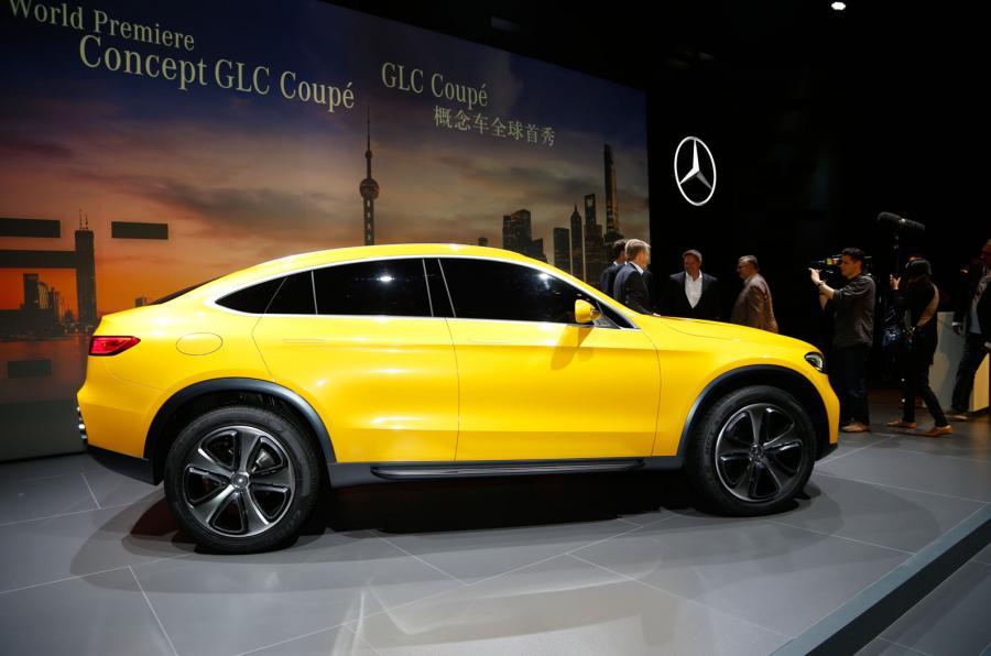 Markedet for højbenede coupeer boomer, og Mercedes skal have en større del af kagen med den nye GLC Coupé.