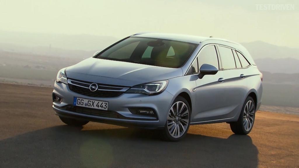 Stationcarudgaven af den nye Opel Astra er sædvanligvis den mest populære i Danmark, og den lander hos forhandlerne i løbet af foråret 2016.