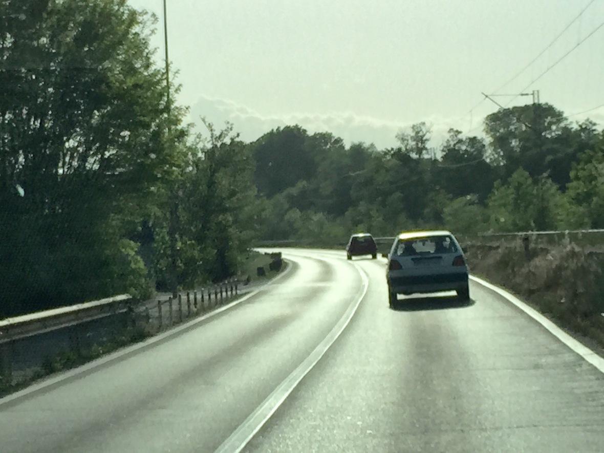 Fanget bag et par Volkswagen Golf MK II igen, igen...
