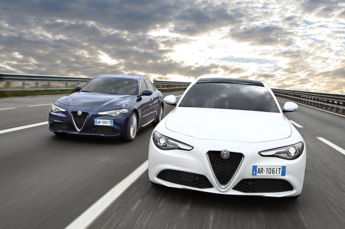 Udover topmodellen Quadrofoglio lanceres Giulia i en standardudstyrsversion og en Super.